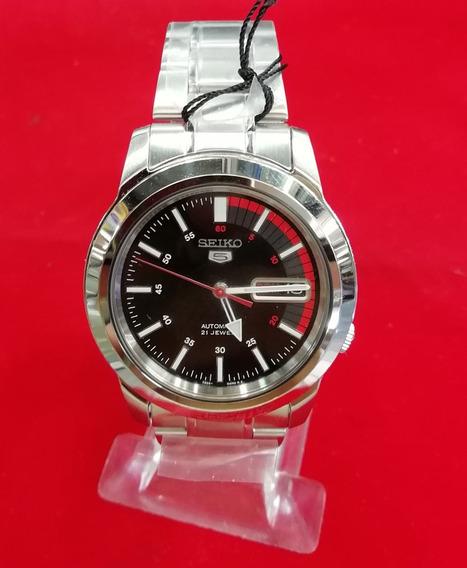 Reloj Seiko 5 Automatico Acero Inoxidable Hombre Original