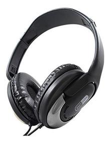 Fone De Ouvido Headset Hardline Hp-350 Preto/cinza
