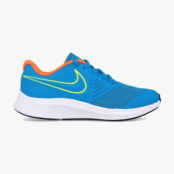 Tenis Nike Star Runner 2 Azul Aq3542 403