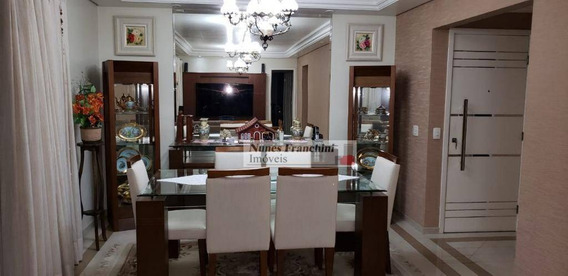 Apartamento Com 3 Dormitórios À Venda, 121 M² Por R$ 1.120.000,00 - Lauzane Paulista - São Paulo/sp - Ap7340