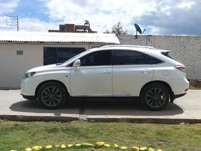 Lexus Rx350 Versión F-sport 6 Cil 3500cc 280 Hp Del 2013