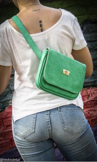 Riñonera Mery Verde Esmeralda