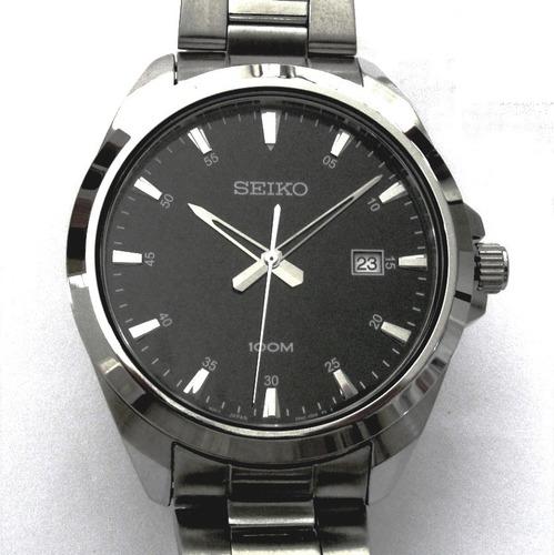 Relógio Seiko Clássico Masculino Aço Sur209b1 P1sx