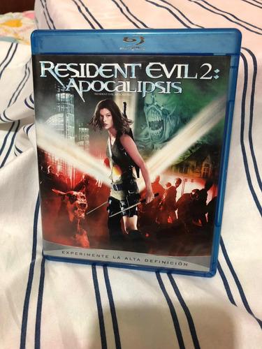 Imagen 1 de 3 de Resident Evil 2 Apocalipsis Blu Ray Terror Ver Reputación