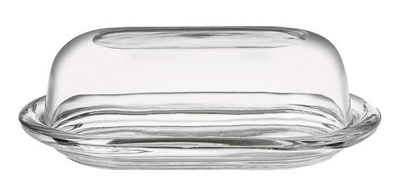 Mantequera De Vidrio Con Tapa