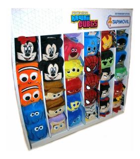 Kawaii Cubes Disney Dc Marvel Peluches Super Heroes Villanos