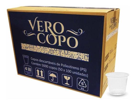 Copo Descartável Café 50ml Verocopo 5000 Unidades