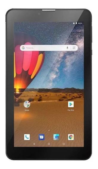 Tablet Barato M7 3g Plus 16gb Preto + Cartão Sd 32gb Nb325