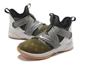 Botas De Baloncesto Nike Lebron Soldier 12 Hombre Deportivo