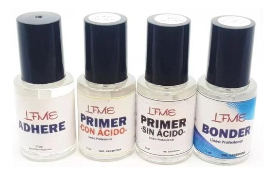 Kit Preparacion Uñas Acrilicas Gel Semipermanente En Lefemme