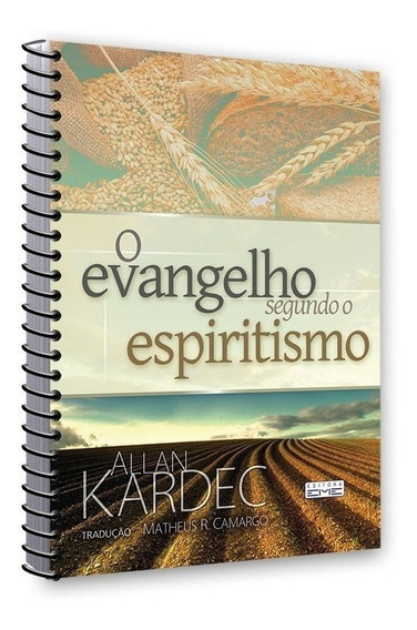 O Evangelho Segundo Espiritismo - Tamanho Extra - Espiral