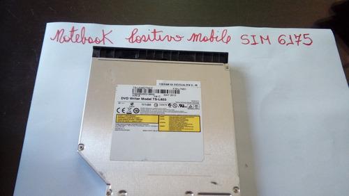 Gravador De Dvd/cd Para Notebook Positivo Mobile Sim 6175