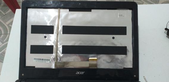Carcaça Da Tela Completa+dobradiças Do Acer Aspire E1-421