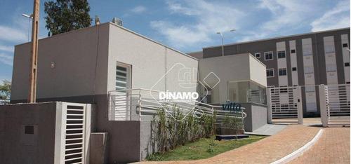 Apartamento Com 2 Dormitórios À Venda, 42,80 M² - Jardim Das Palmeiras - Ribeirão Preto/sp - Ap3454