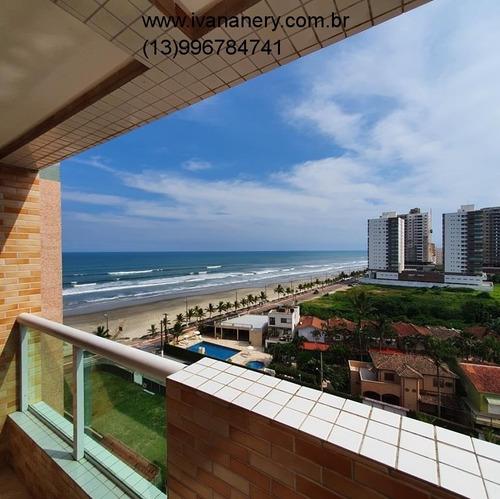 Apartamento Novo, 2 Quartos, Vista Para O Mar - Mongaguá - Ap00100 - 69331223