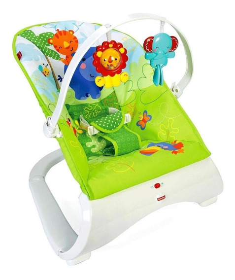 Silla Mecedora Fisher Price Rainforest C/vibracion + Envio