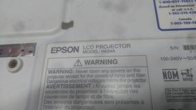 Projetor Epson H434a Defeito Na.lampada Sem Cr