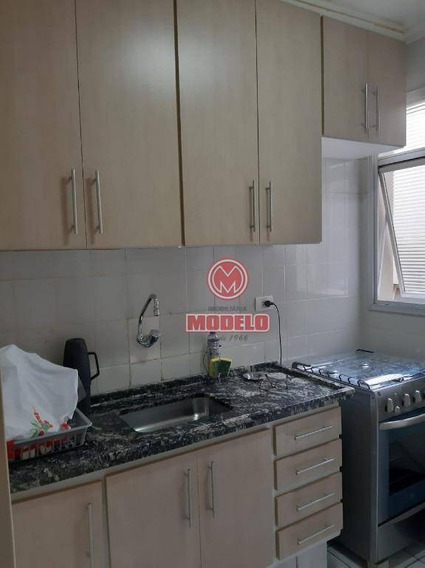 Apartamento Com 2 Dormitórios À Venda, 57 M² Por R$ 150.000,00 - Paulicéia - Piracicaba/sp - Ap2691