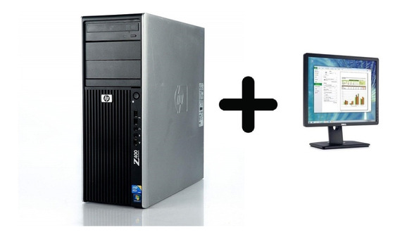 Workstation Hp Z400 Xeon 12gb/ Hd 2tb/ Nvidia 4000/ Dell 19