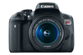 Câmera Canon Eos Rebel T6i - Ef-s 18-55 Is Stm Kit Com Lente