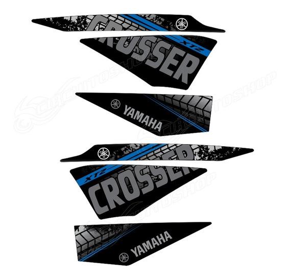 Kit Adesivo Faixa Crosser Xtz 150 Personalizado M12 Yamaha