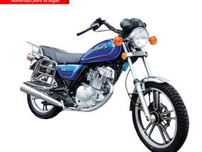 Moto Sukida Gne-200/ 200cc Año 2019 Color Rojo - Azul