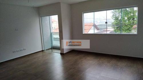 Imagem 1 de 14 de Sobrado Com 3 Dormitórios À Venda, 157 M² Por R$ 840.000,00 - Santa Maria - Santo André/sp - So2740