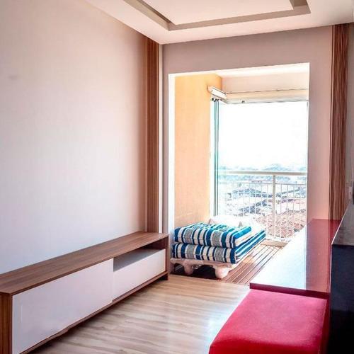 Apartamento Em Alto Do Pari, São Paulo/sp De 55m² 2 Quartos À Venda Por R$ 460.000,00 - Ap644138