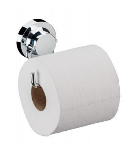 Soporte Papel Higienico Porta Papel Con Ventosa Inox Future