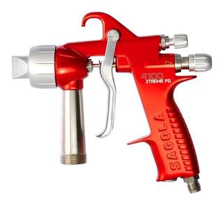 Pistola Pintar Alta Sagola 4100/4001 Xtreme Inox 1.8