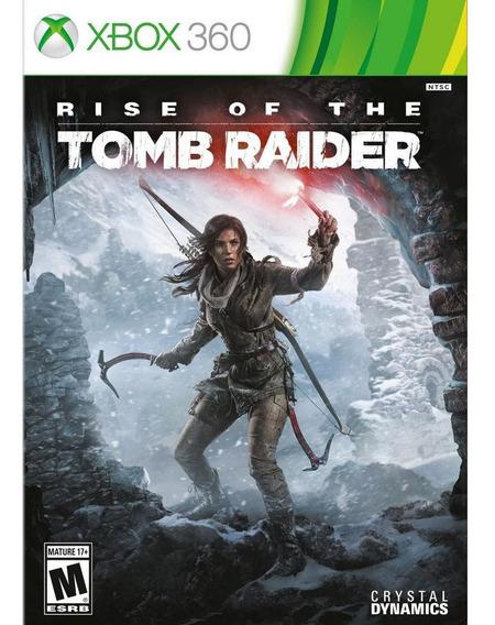 Rise Of The Tomb Raider Xbox 360 Midia Digital