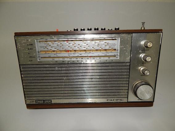Antigo Radio Alemão Itt Schaub Lorenz Pacific