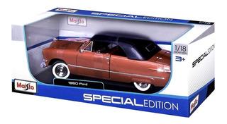 Veículo Em Miniatura Ford Custom 1950 Maisto