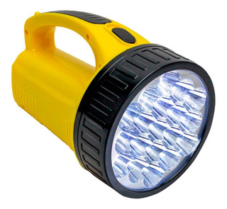 Lanterna 19 Leds Potente Alto Alcante Bivolt Recarregavel