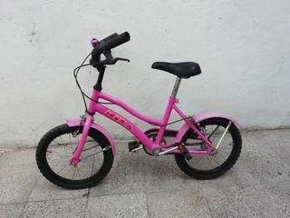 Bicicleta Para Niña Rodado 14 Usada