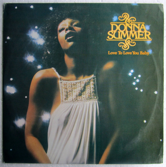 Lp Donna Summer Love To Love You Baby