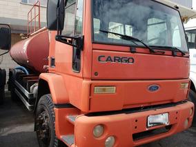Caminhão Pipa Gascom Ford Cargo 1417 Toco - 2001