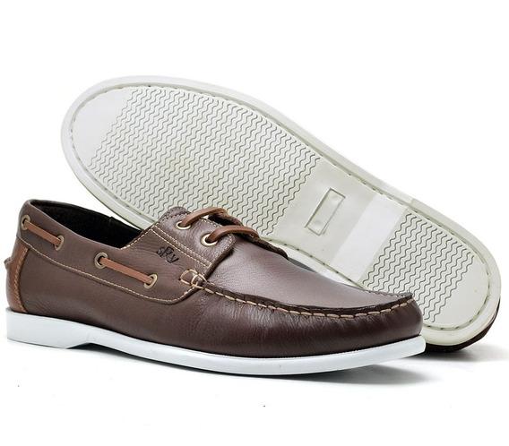 Sapato Masculino Dockside Couro Legitimo