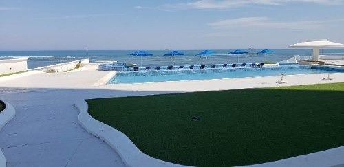 Departamento Con Vista Al Mar Y Acceso A Playa. Torre Jv, Boca Del Río, Veracruz