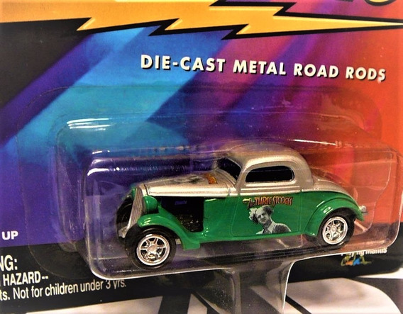1933 Ford Coupe Flathead Larry Fine Johnny Lightning 1/64