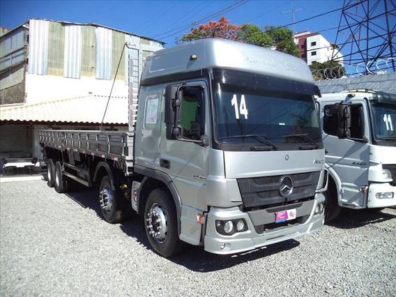 Mercedes Atego 2429 Bitruck 2014 ( Entrada + Parcelas )