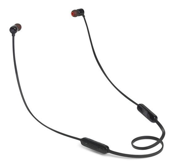 Fone De Ouvido Original Jbl T110 Bluetooth Preto In Ear