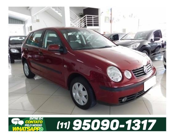 Volkswagen Polo 1.6 Manual 4p Gasolina 2003 Vermelho.