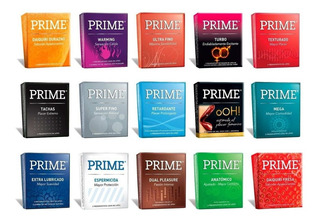Preserv. Prime 24x3u (72) Combinalos Como Quieras!!