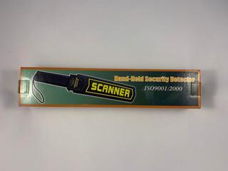 Detector De Metales Saco Scanner Corporal Somos Tienda -