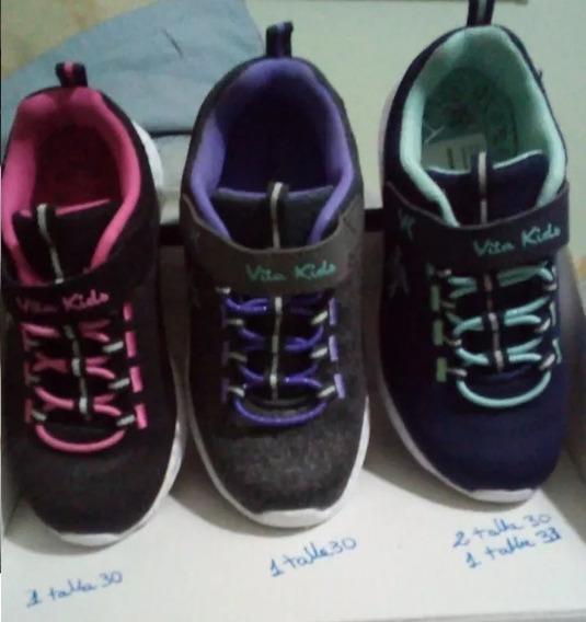 Zapatos Deportivos Vita Kids Niños Y Niñas