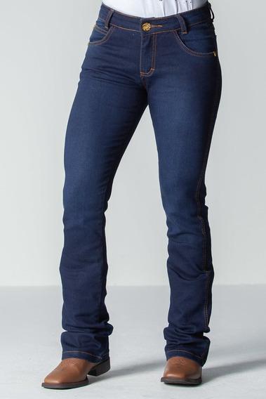 Calca Jeans Feminina Flare -soft