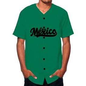 Jersey De Béisbol México Verde Nombre Número Personalizado