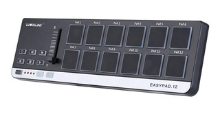 Worlde Easypad. 12 Port??til Mini Usb 12 Drum Pad Controlado