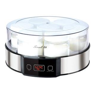 Yogurtera Smart Tek Digital 7 Jarros De Vidrio Recetario